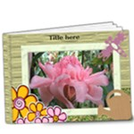 My Family Garden Deluxe Book (20 pages) 9x7 - 9x7 Deluxe Photo Book (20 pages)