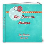 Cookbook 8x8 Updated - 8x8 Photo Book (20 pages)