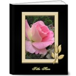 Black and Gold 8x10 Deluxe Picture Book (20 pages) - 8x10 Deluxe Photo Book (20 pages)