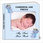 Cameron 1st Album - 8x8 Photo Book (20 pages)