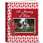 8x10 DELUXE: A Journey of Love : Pre-Nup/ Engagement/Wedding - 8x10 Deluxe Photo Book (20 pages)