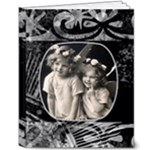 Monochrome Deluxe Vintage 10 x 8 album - 8x10 Deluxe Photo Book (20 pages)