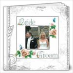 Dove 12 x 12 40 page wedding keepsake album  - 12x12 Photo Book (40 pages)