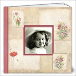 Rosa Botanica 40 Page 12 x 12 - 12x12 Photo Book (40 pages)