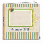 Tutti-Frutti Stripes 8x8 Photo Book - 8x8 Photo Book (20 pages)