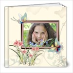 Flower Girl Pattern - 8x8 Photo Book (20 pages)