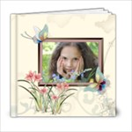 Flower Girl Pattern - 6x6 Photo Book (20 pages)