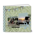 Summer Sophisticate DELUXE 6x6 20 page book - 6x6 Deluxe Photo Book (20 pages)