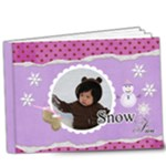 9x7 DELUXE- Snow Fun - 9x7 Deluxe Photo Book (20 pages)