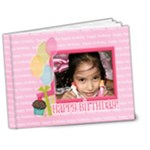 7x5 DELUXE: Birthday Brag Book - 7x5 Deluxe Photo Book (20 pages)