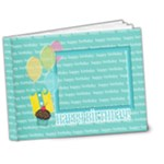 7x5 DELUXE - Birthday Brag Book (BOY) - 7x5 Deluxe Photo Book (20 pages)