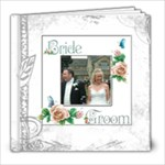 Dove 8 x 8 30 page wedding keepsake album  - 8x8 Photo Book (30 pages)