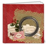 Blessed/Holiday-DELUXE 8x8 Album - 8x8 Deluxe Photo Book (20 pages)