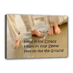 marriage advice 18x12 stretched canvas - Canvas 18  x 12  (Stretched)
