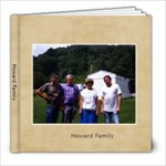 Howard-Collins Family Photo Album - 8x8 Photo Book (30 pages)