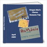 Romania Trip 2009 Lou - 8x8 Photo Book (30 pages)