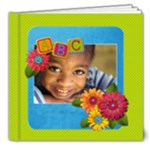 School Days/Friends- 8x8 Photo Book Deluxe - 8x8 Deluxe Photo Book (20 pages)