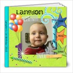 Langdon 1st bday 2010 - 8x8 Photo Book (20 pages)