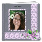 Delightful shades of Violet 12x12 (100 page) Book - 12x12 Photo Book (100 pages)