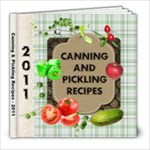 Our Family Canning Recipes - 8x8 Photo Book (20 pages)