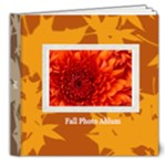 fall theme - 8x8 Deluxe Photo Book (20 pages)