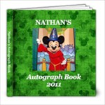 autograph book nate - 8x8 Photo Book (60 pages)