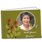 9x7 DELUXE : World s Greatest Grandma / Mom - 9x7 Deluxe Photo Book (20 pages)