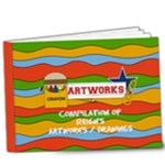 9x7 DELUXE : Artworks / Projects / Drawings - 9x7 Deluxe Photo Book (20 pages)