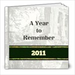 Year 2011 - 8x8 Photo Book (20 pages)
