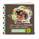 life = hope 6x6 20 pgs - 6x6 Photo Book (20 pages)
