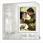 Our Wedding 8x8 Book (100 Pages) White - 8x8 Photo Book (100 pages)