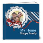 my family, happy home - 8x8 Photo Book (20 pages)