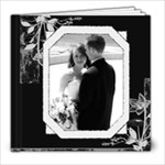 Black & White Any Occasion 8x8 39 Page Photo Book  - 8x8 Photo Book (39 pages)
