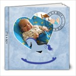 It s A Boy 8x8 39 Page Photo book  - 8x8 Photo Book (39 pages)