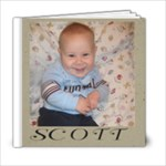 Scott - 6x6 Photo Book (20 pages)