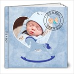 It s A Boy 8x8 60 Page Photo Book - 8x8 Photo Book (60 pages)