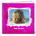 Pink Little Princess Deluxe (20 Pages) 8x8 Book - 8x8 Deluxe Photo Book (20 pages)