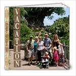 Florida Vacation June 2010 - 8x8 Photo Book (100 pages)
