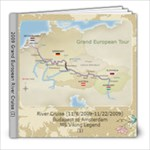 2009 River Cruise - 8x8 Photo Book (100 pages)