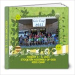 kids camp 2011 - 8x8 Photo Book (100 pages)