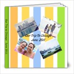 Our trip to Chicago - 8x8 Photo Book (20 pages)