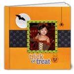 8x8 (DE LUXE): Trick or Treat - 8x8 Deluxe Photo Book (20 pages)