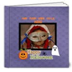 8x8 (DELUXE): Happy Halloween - 8x8 Deluxe Photo Book (20 pages)