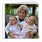 nannys birthday album - 8x8 Photo Book (60 pages)