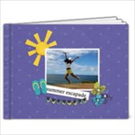11 x 8.5 (20 pages): Summer Escapade - 11 x 8.5 Photo Book(20 pages)