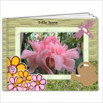 My Family Garden Book 11x8.5 (20 Pages) - 11 x 8.5 Photo Book(20 pages)