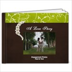 11 x 8.5 (20 pages): Simple Engagement/Wedding Photobook Template - 11 x 8.5 Photo Book(20 pages)