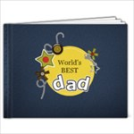 11 x 8.5 (20 pages): World s Best Dad - 11 x 8.5 Photo Book(20 pages)