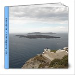 trip to santorini - 8x8 Photo Book (20 pages)