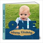 Elijah s Birthday Book  - 8x8 Photo Book (80 pages)
